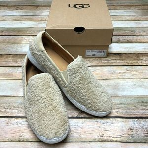 UGG Ricci Plush Slip-On Sneaker. NWT